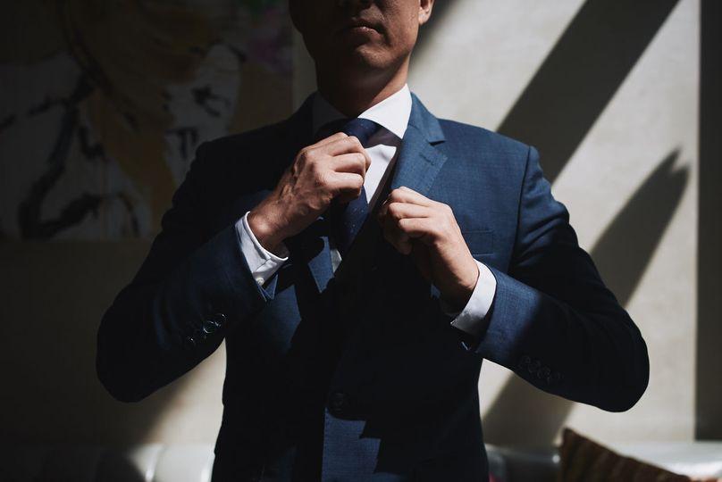 Groom prep W Hollywood - Stephen Tang Photo