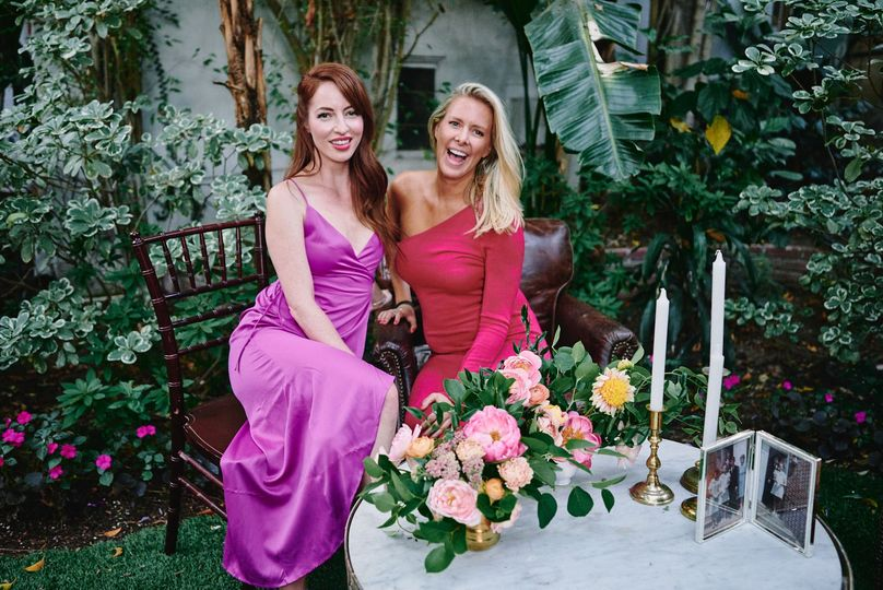 Sunset Marquis wedding guests - Stephen Tang Photo