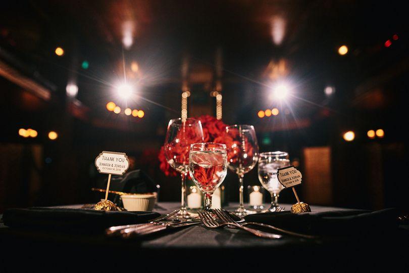 Sweetheart table Cicada Club