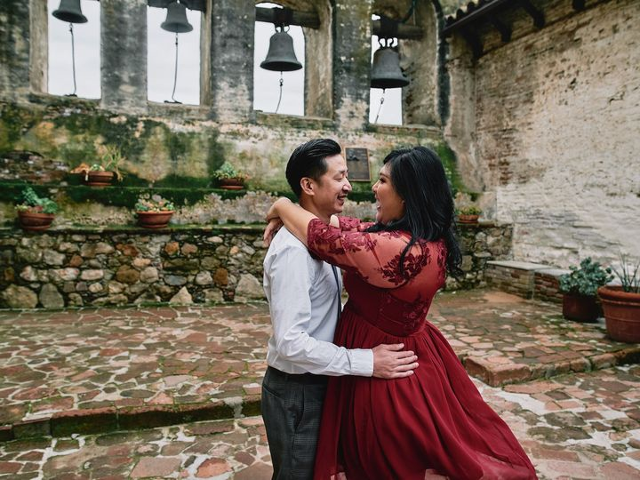 Tmx 004 Mission San Juan Capistrano Engagement Stp 51 656389 V2 San Gabriel, CA wedding photography
