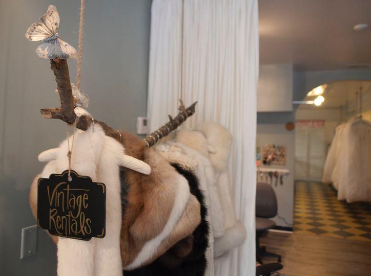 Vintage fur rentals