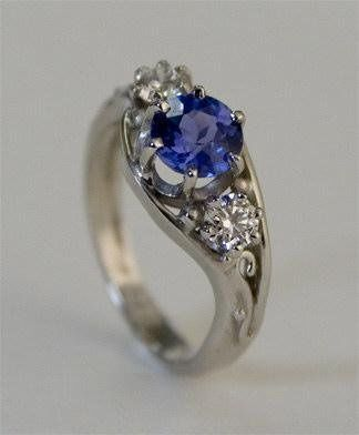 Tmx 1241300987914 SapphireRing Cambridge wedding jewelry