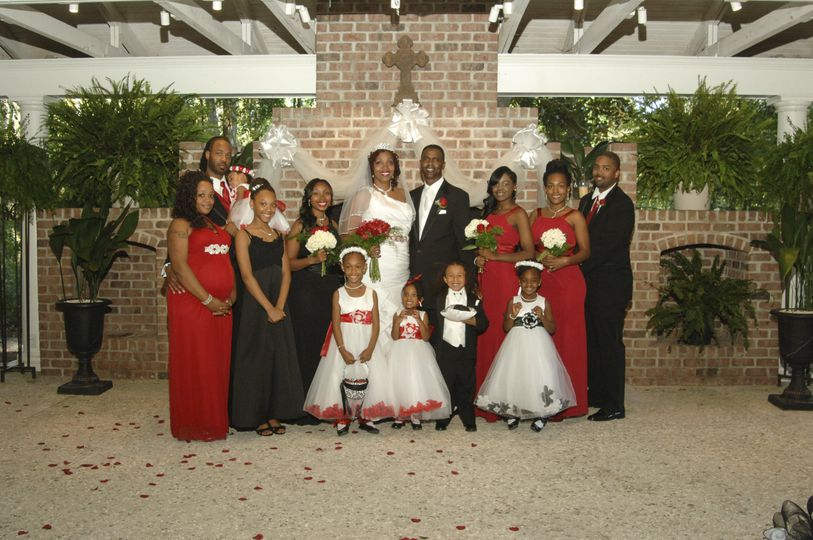 b wedding party photos 25