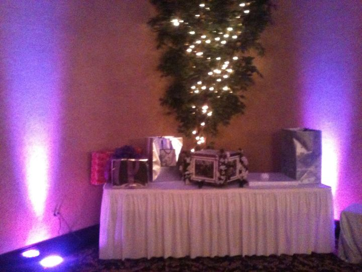 Tmx 1439321528208 Purple Cg Gift Table Brighton, MI wedding dj