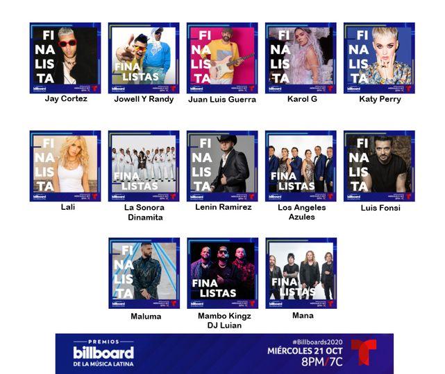 2020 Billboard Finalists
