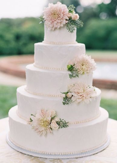 Traditional 4 tiered Cake