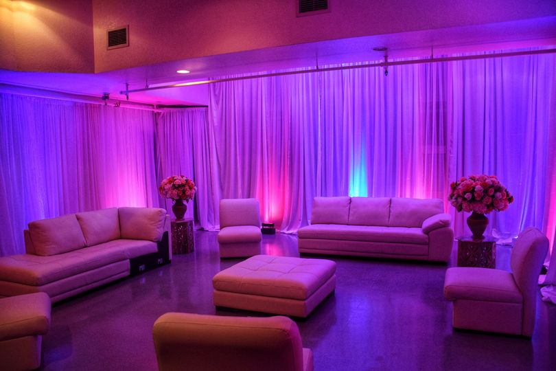 Bridal party lounge