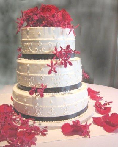 Tmx 1221164435058 VictorianRosefront2 Petaluma wedding cake