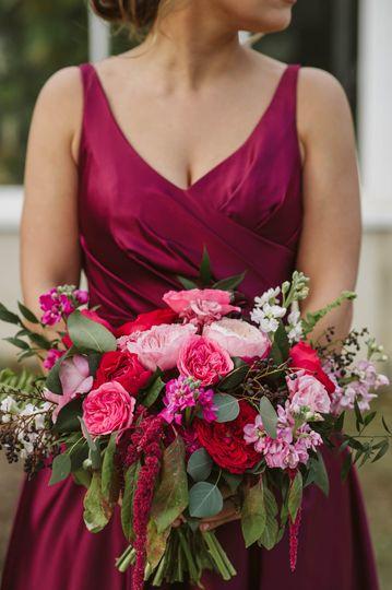 Wedding bridesmaids bouquet