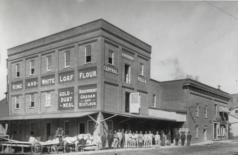 Central Mill around 1900