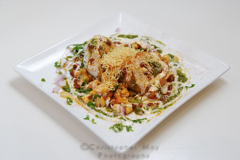 Special samosa chaat