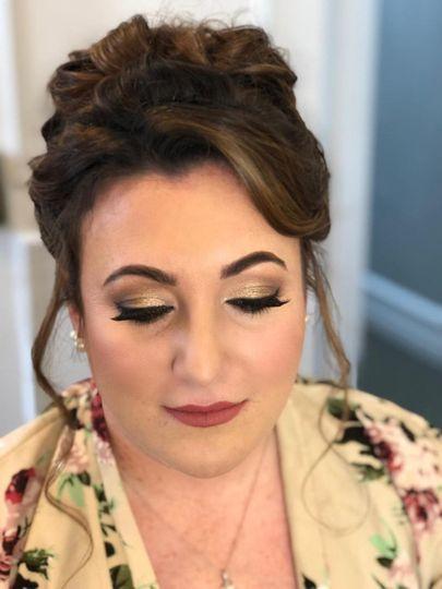 Drastic makeup