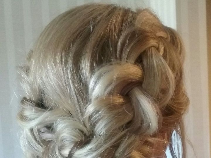 Tmx 1522338804 540e5538c38960df 1522338802 1a95fe755c677ae0 1522338795107 1 Braided Crown Updo Saddle Brook, NJ wedding beauty