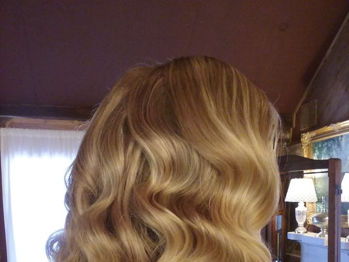 Tmx 1522338807 9b97c0c0403be02c 1522338804 21e1860354a1e556 1522338795119 5 Vintage Hair Saddle Brook, NJ wedding beauty