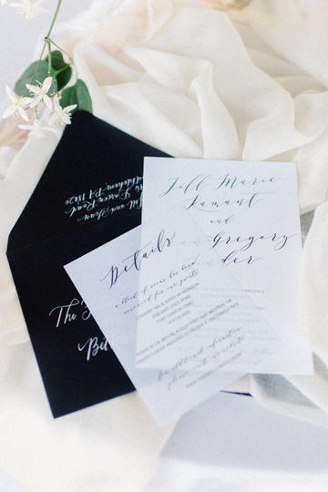 Wedding invitation   Rachel Pearlman Photo