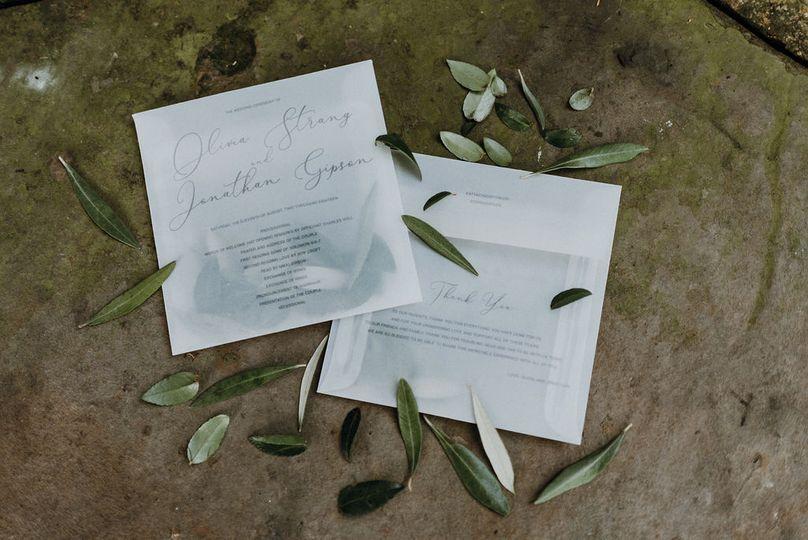 Invitations | Suzuran Photography