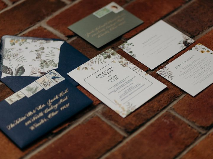 Tmx Jacobcatie 334 51 92489 Tallmadge, OH wedding invitation