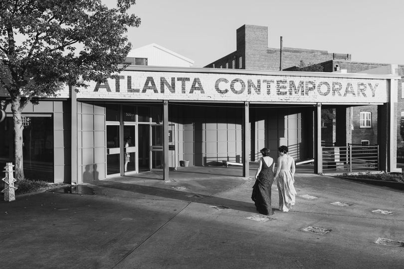 ATL Contemporary Entrance