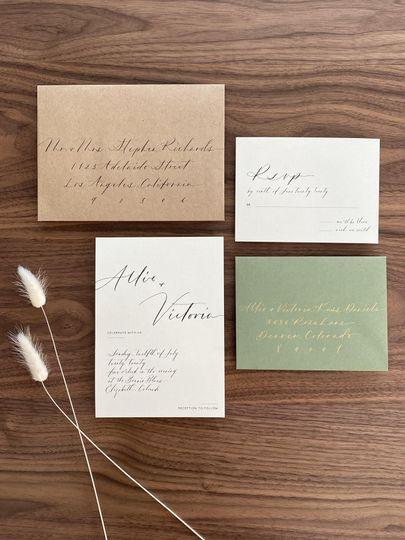 Pre-Designed Invitation Suite