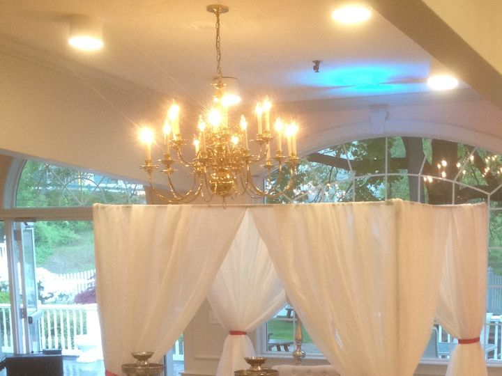 Tmx 1491304753270 Adcocktailfountainswithdrappery Haverhill wedding venue