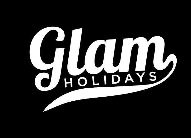 glam logo whit