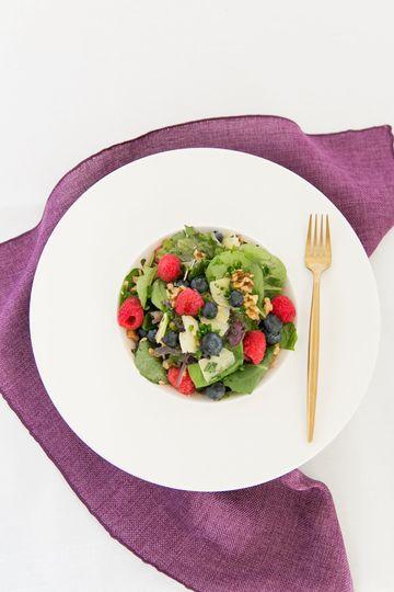Berry farm salad