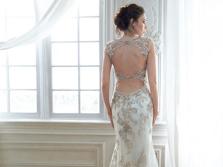 Tmx 1468423875608 Maggie Sottero  Jade Back West Des Moines wedding dress