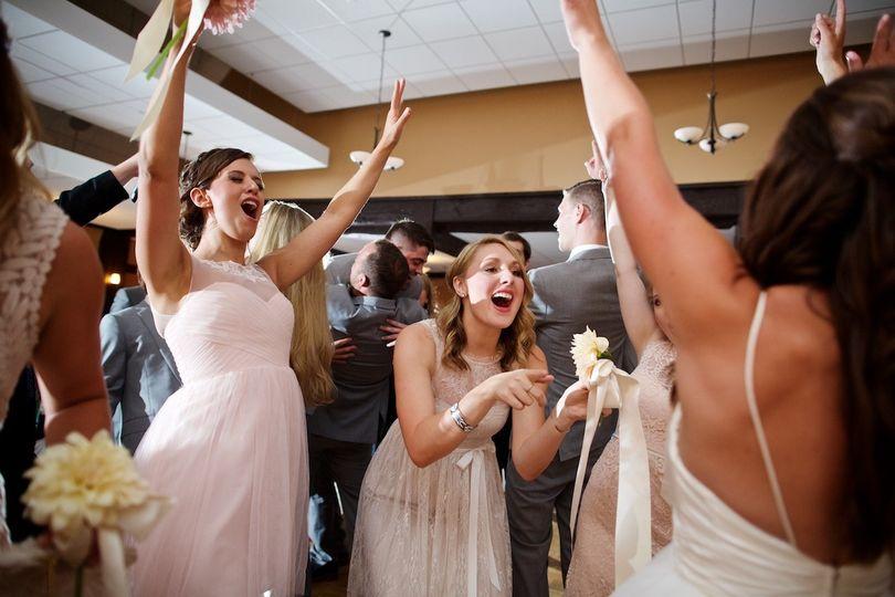Bridesmaids fun