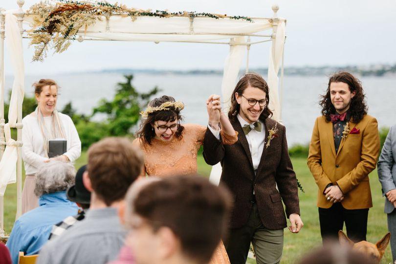 Providence, RI vintage inspired wedding