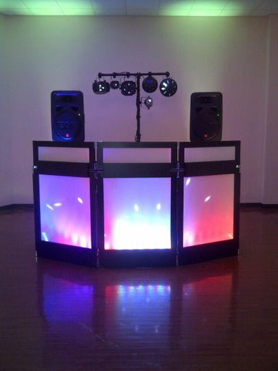 PartyMaster Entertainment DJ booth