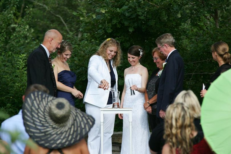 A Family Sand Ceremony with Shannon and Kristin