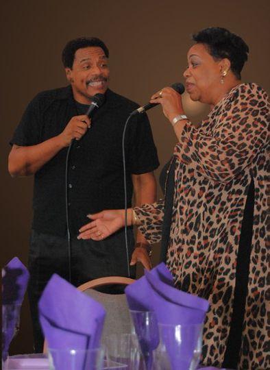 James & Yvette Loveless provides stirring vocals for the band.