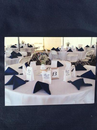McCarthy Tent Reception