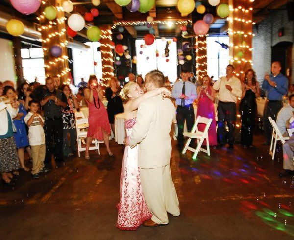 A beautiful (budget) reception where everyone partied until 2:30 am!!  photo copyright...