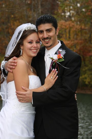 Beautiful couple in October