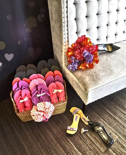 Check out our reception Flip Flops! These make great Wedding Favors.   Your guests will love these...