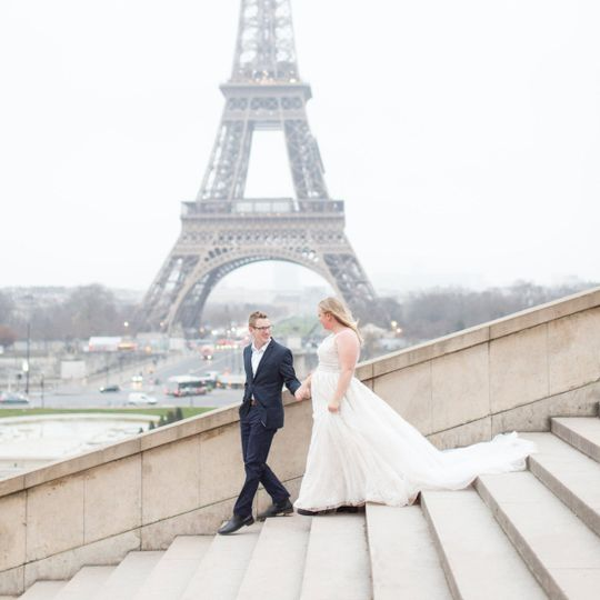 Paris Wedding Photographer | Destination Wedding | Vow Renewal