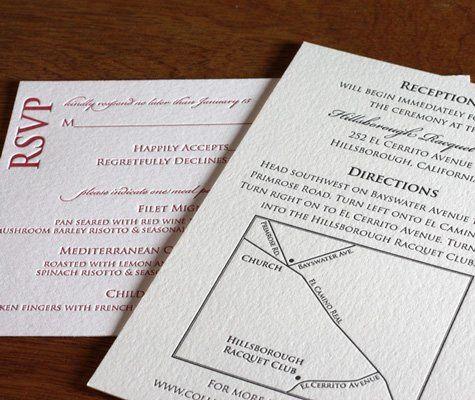 Anne Letterpress Wedding Invitation Design  http://invitationsbyajalon.com/gallery/anne.html