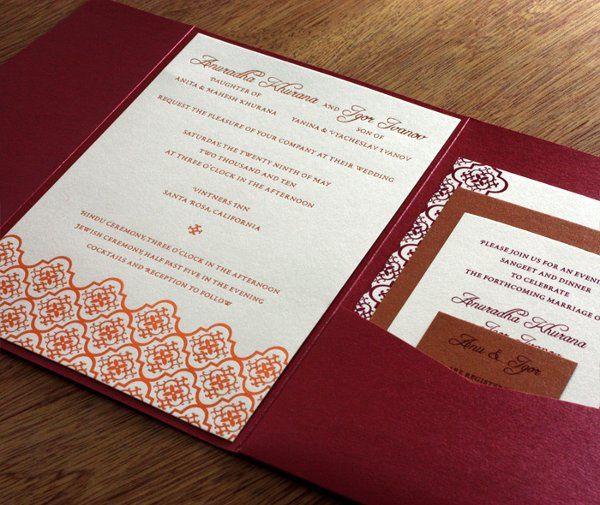 Tmx 1314225138969 Avanilg02 Rohnert Park wedding invitation