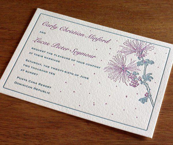 Tmx 1314225835978 Calliandralg01 Rohnert Park wedding invitation