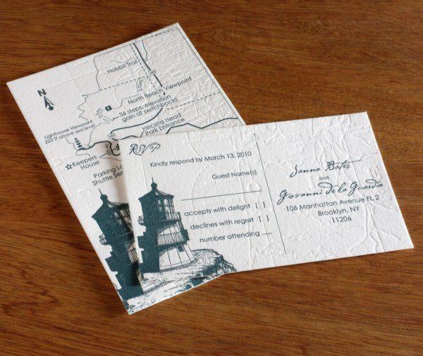 Tmx 1314225915460 Capecodlg02 Rohnert Park wedding invitation