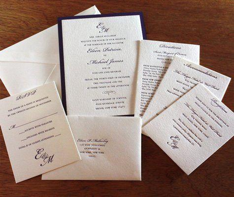 Tmx 1314226964313 Classicmonogram04 Rohnert Park wedding invitation