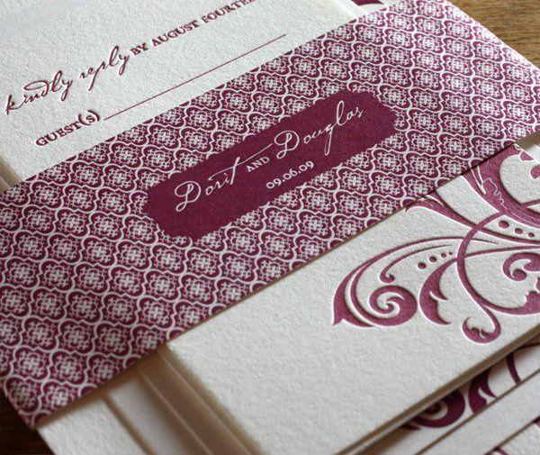 Tmx 1314227437586 Fleurlg05 Rohnert Park wedding invitation