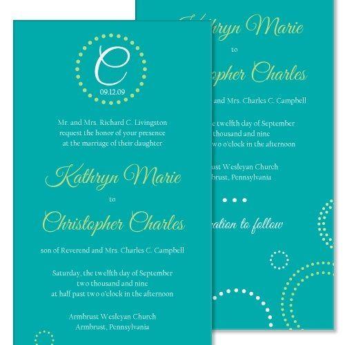 Tmx 1305924930119 Aquainvitelarge Elysburg, PA wedding invitation