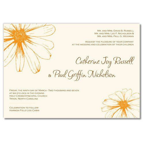 Tmx 1305924956791 Catherinedaisyinvitation2large Elysburg, PA wedding invitation