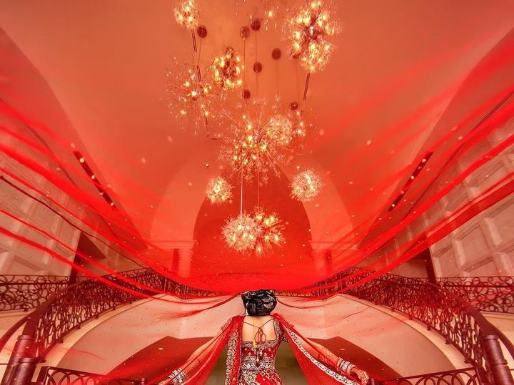 Tmx Adam Opris Red Wedding Sari 51 1079489 159311207034512 Orlando, FL wedding venue