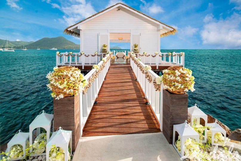 Wedding Chapel in St. Lucia