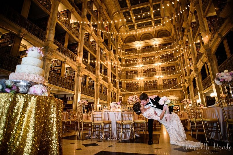George peabody library venue baltimore md weddingwire for Best wedding venues in the us