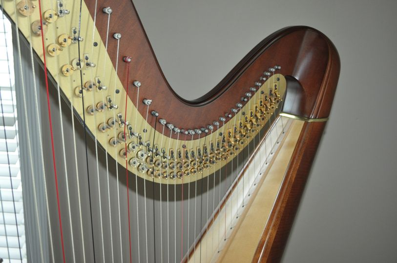 Concert harps have 47 strings & 7 pedals and are able to play any key, style or range of music.  It...