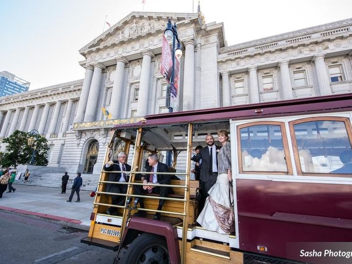 Tmx 1469822651024 Antonsonhitchingssashaphotographykathijohnhires003 San Francisco, CA wedding transportation